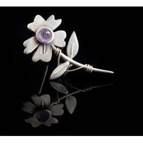 """Handmade Brooch """"Daisy"""""""
