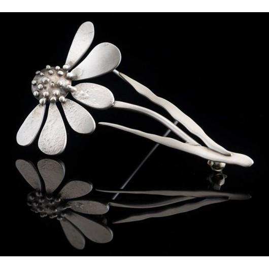 "Handmade Brooch ""Sad Flower"""