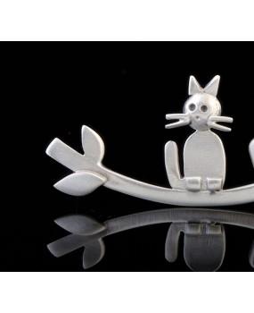 """Handmade Brooch """"Cat"""""""