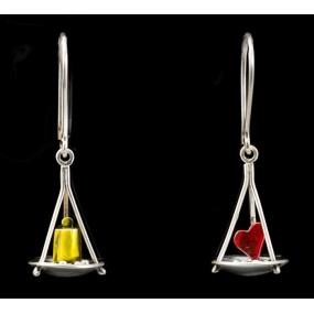 "Handmade earrings ""Scale"""