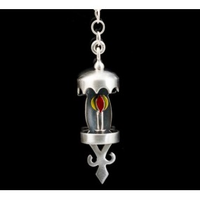 "Handmade earrings ""Lanterns Chain"""