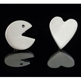 """Handmade earrings """"Pacman"""""""