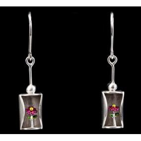"""Handmade earrings """"Daisies"""""""