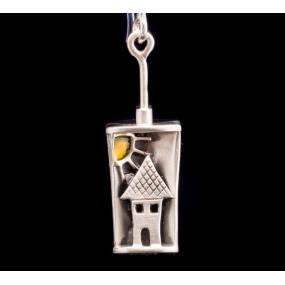 """Handmade earrings """"Little house Girl"""""""