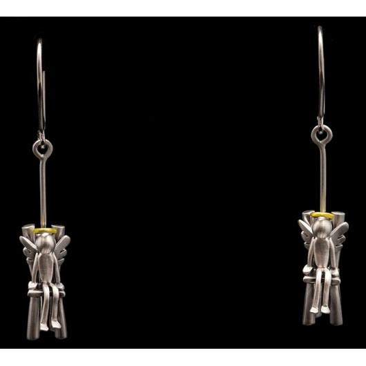 """Handmade earrings """"Angels Chair"""""""