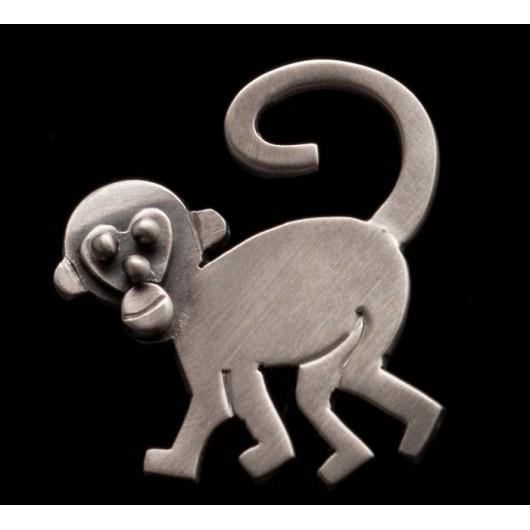 "Handmade earrings ""Monkeys"""