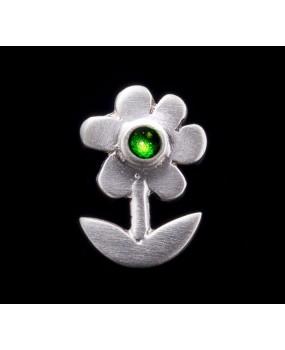 """Handmade earrings """"Green Daisies"""""""