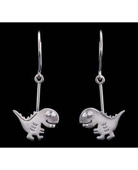 "Handmade earrings ""Dinosaurs"""