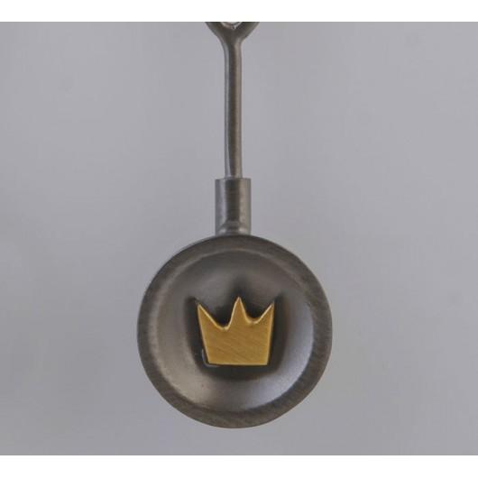 "Handmade earrings ""Crowns Bull"""