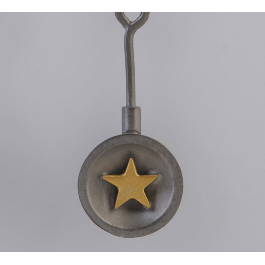 """Handmade earrings """"Stars Bull"""""""