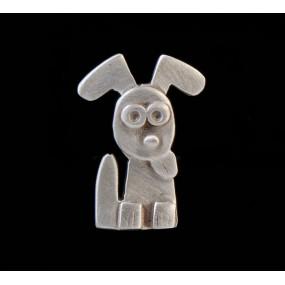 """Handmade earrings """"Dog - Heart"""""""