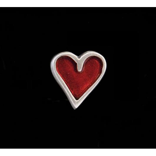 "Handmade earrings ""Bird - Heart"""
