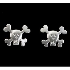 """Handmade earrings """"Small Skulls"""""""