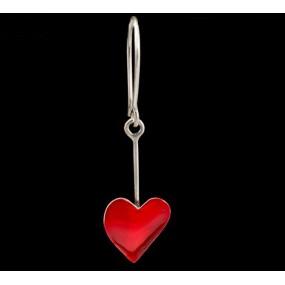 """Handmade earrings """"Heart Cleaver"""""""