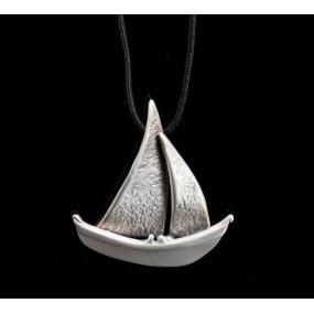 "Handmade necklace ""Little Boat"""