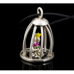 """Handmade necklace """"Caged Prince"""""""