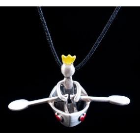 "Handmade necklace ""Boatman"""