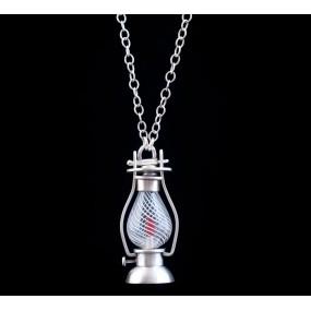 "Handmade necklace ""Lamp"""