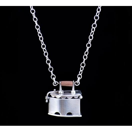 "Handmade necklace ""Iron"""
