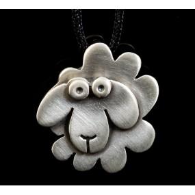 """Handmade necklace """"Little sheep"""""""