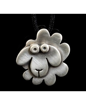 "Handmade necklace ""Little sheep"""