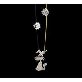 "Handmade necklace ""Wolf Sheep"""