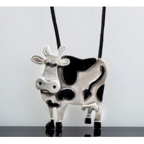 "Handmade necklace ""Cow"""