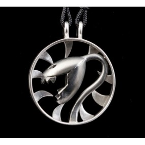 "Handmade necklace ""Carnivore Circle"""