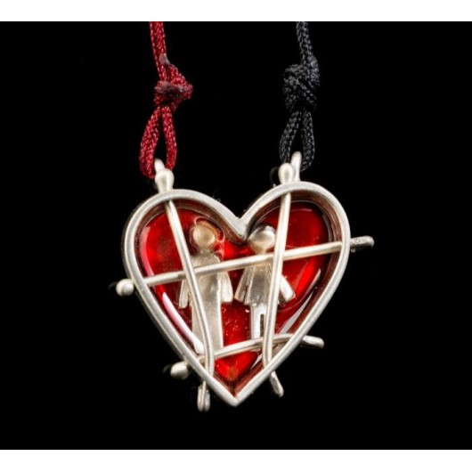 "Handmade necklace ""Prison Heart"""