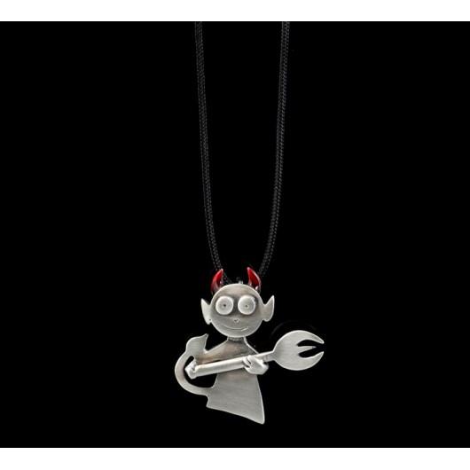"Handmade necklace ""Little devil"""
