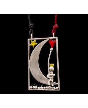 "Handmade necklace ""Prince Frame"""