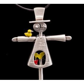"Handmade necklace ""Scarecrow"""