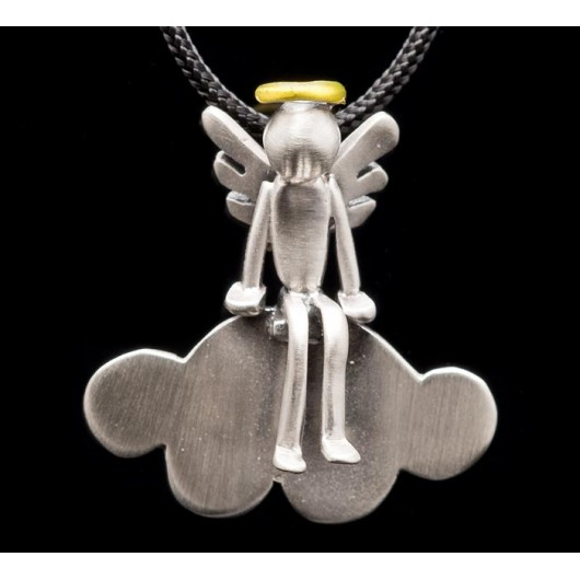 "Handmade necklace ""Angel cloud"""