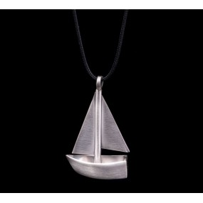 """Handmade necklace """"Boat 3D"""""""