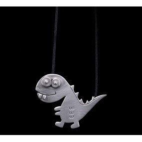 "Handmade necklace ""Dinosaur"""