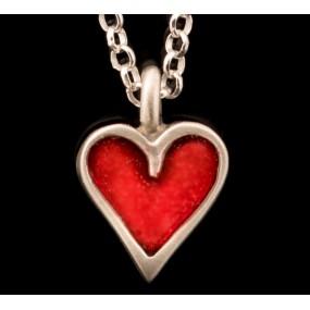 "Handmade necklace ""Heart Chain"""