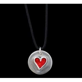 "Handmade necklace ""Heart Circle"""