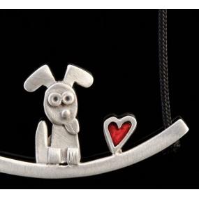 "Handmade necklace ""Dog Bar"""