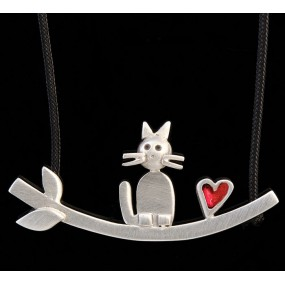 "Handmade necklace ""Cat Bar"""