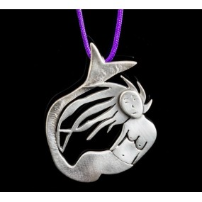 "Handmade necklace ""Mermaid"""
