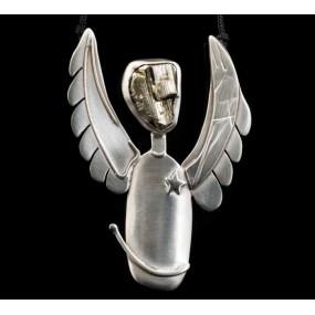 "Handmade necklace ""Angel Anarchist"""