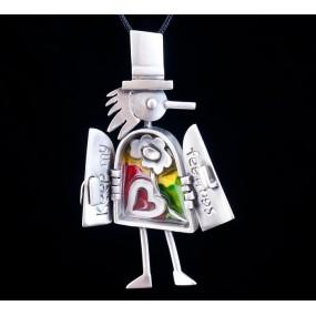 "Handmade necklace ""Dr.tsi"""