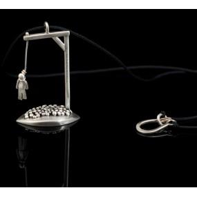 "Handmade necklace ""Gallows"""