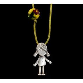 """Handmade necklace """"Little Girl"""""""