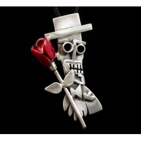 "Handmade necklace ""Mr X"""