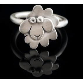 "Handmade ring ""Sheep"""