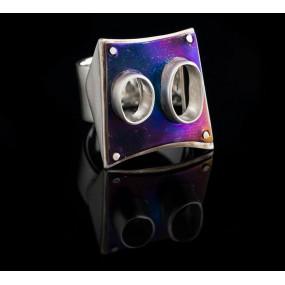 """Handmade ring """"Titanium"""""""