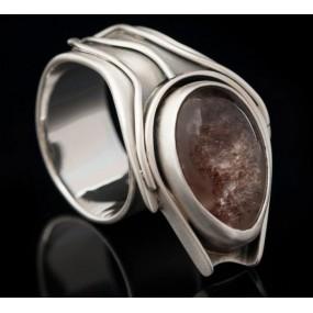 "Handmade ring ""Chlorite"""