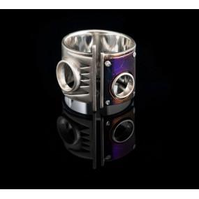 """Handmade ring """"Unisex Titanium"""""""