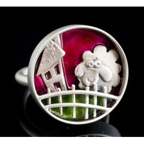 """Handmade ring """"Sheep fence circle"""""""